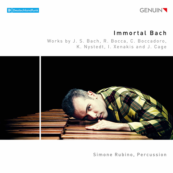 Immortal Bach CD cover